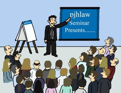 PJH Law News – Seminar Success