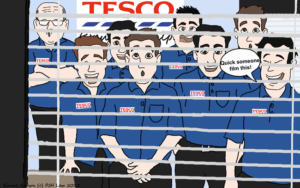 Tesco Office Romp
