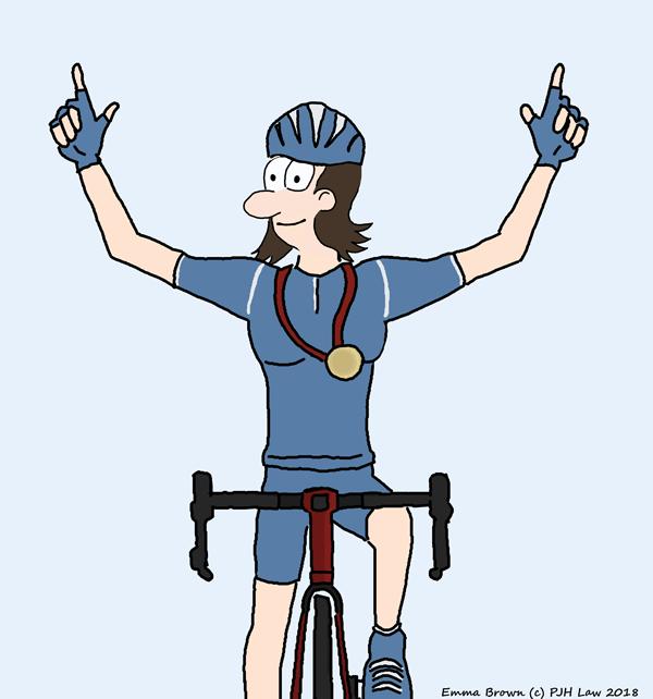 female olympic cyclist