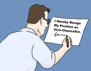 Vice Chancellor at De Montfort University Resigns