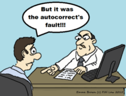 Lighter Side of the News – Sacked for Racist Auto Correct