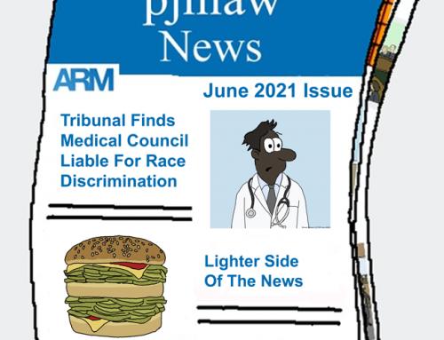 PJHLaw June 2021 Newsletter